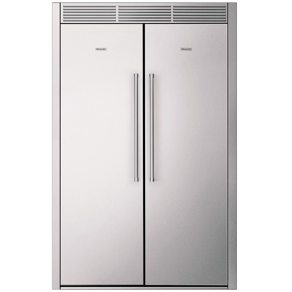 KitchenAid Side by Side Built In Refrigerator